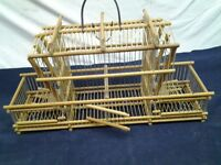 Cage d'oiseau artisanale fabriquer a CUBA
