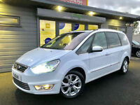 2011 61 Ford Galaxy 1.6T ( 160ps ) EcoBoost Titanium X **White - 7 Seater FSH**