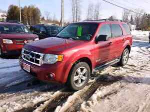2008 ford escape 4x4  leather roof certified etested we finance