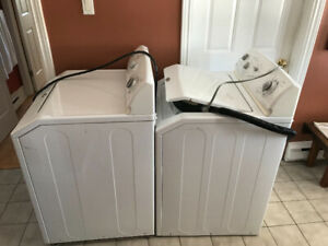 Washer & Dryer - 13 years old