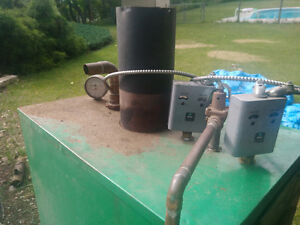 Wood and elctric boiler/furnace