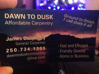 Junk to the dump/carpentry services