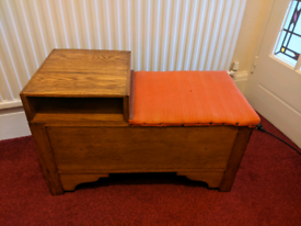 Solid wood Telephone Table (possible Oak)