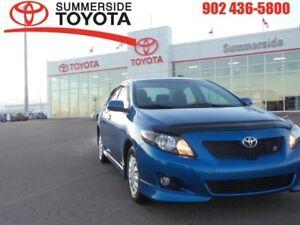 2010 Toyota Corolla S  - Aluminum Wheels - $35.60 /Wk