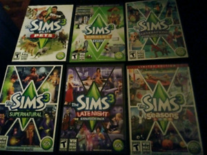 Sims 3, PS4 games & board game....