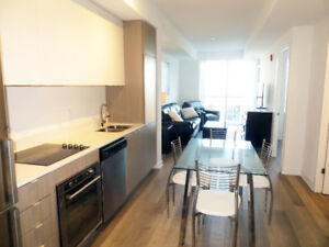 Fully Furnished 1 Bed + Den + parking Oakville/Burlington