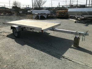 Triton XT4.5 single tilt snowmobile trailer
