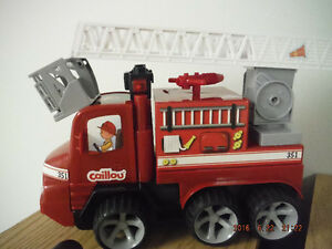 CAILLOU FIRE TRUCK London Ontario image 1