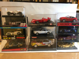 Slot Cars 1/32 and 1/24 scale Carrera, Ninco, SCX, Fly, etc.