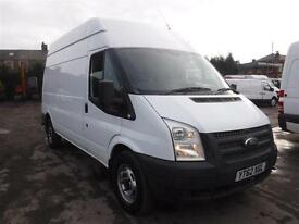 FORD TRANSIT 350 H-R LWB 155PS, White, Manual, Diesel, 2012