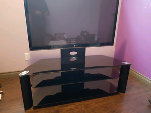 TV stand for sale .