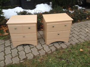 2 Bedside Tables - Excellent Condition