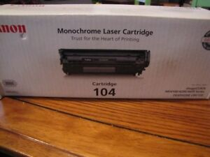 Canon 104 toner cartridge (new)