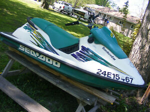 SEADOO SPX 1996 HULL WITH VTS SYSTEM