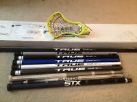 Selling lacrosse head and shafts