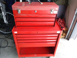Two piece toolbox