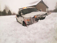 acerage drive way clearing, parking lot plowing