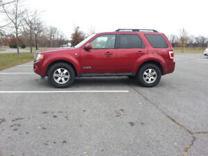 2008 Ford Escape, Safetied, Etested and ready to go