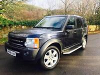 2008 Land Rover Discovery 3 2.7TDV6 auto HSE Black *Upgrade Leather 7 Seats Nav*