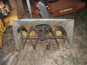 PTO 3 point hitch snow blower