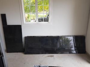 Black Speckled Granite Slabs