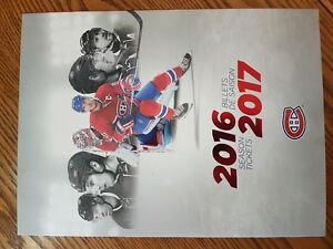Montreal Canadiens Season Tickets 321BB Center Whites