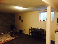 1 bedroom self contained basement apartment with own entrance
