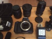 CANON 550D & Lenses