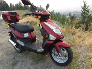 REDUCED* PGO SCOOTER 4 STROKE  LOW KLM'S ONLY $1400