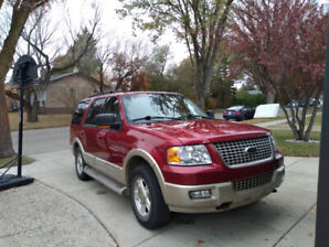 2006 Ford Expedition E.B. Good Condition and Low kms for year.