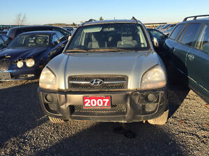 2007 Hyundai Tucson for PART OUT!