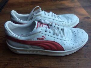 Like new Puma leather shoes Mens size 8 1/2