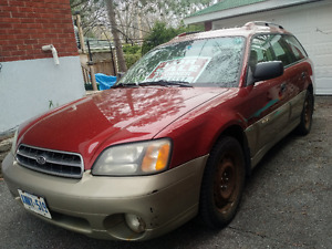 -SOLD-2002 Subaru Outback Wagon - Manual transmission