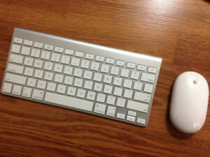 Apple Bluetooth Wireless KeyBoard & Apple BlueTooth Mighty Mouse