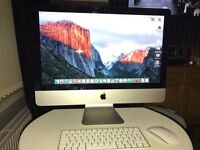 iMac 21.5 inch 5 months old 8gb ram and i5 processor