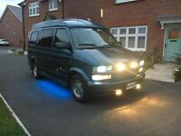 CHEVROLET GMC ASTRO VAN AMERICAN 4.3 V6 Automatic 7 Seater 1995 (M)