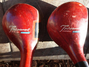 Set of Vintage 1960's Golf Clubs and Golf Bag (Woods and Irons) Kitchener / Waterloo Kitchener Area image 3