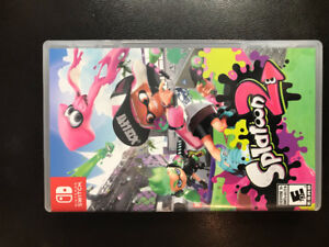 Brand new SPLATOON 2 for Nintendo switch. Played 1 time