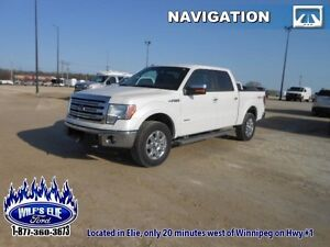2014 Ford F-150 Lariat   - Leather - Navigation - Heated Seats