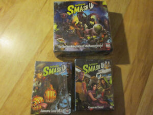 SMASH UP Paul Peterson Board Card Game + Expansion AEG Zombie