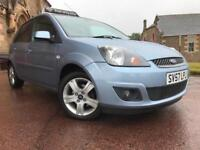 *6 MTHS WARRANTY*2007(57)FORD FIESTA 1.2S 5DR ZETEC CLIMATE WITH ONLY 47K*