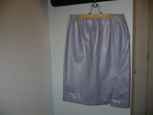 Danier Leather Lilac Skirt $40.00