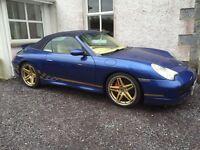 Porsche 911/996 carrera 4 s cabrio