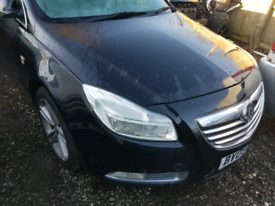 Vauxhall insignia sri cdti front end