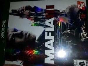 XBOX 1 video game MAFIA III