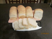 Homemade white bread ready on order - $2.00 per loaf