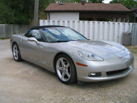 2005 Corvette C6 Convertible Mint Cond New Safety 114 KMS