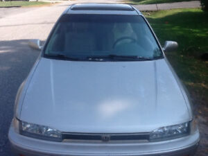 1993 Honda Accord Sunroof, leather Coupe (2 door) reduced to 750