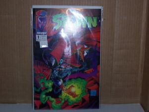 SPAWN 1 COMIC BOOK