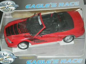 Eagle's Race 1/18 1995 Ford Mustang Shinoda Boss Diecast Car Red